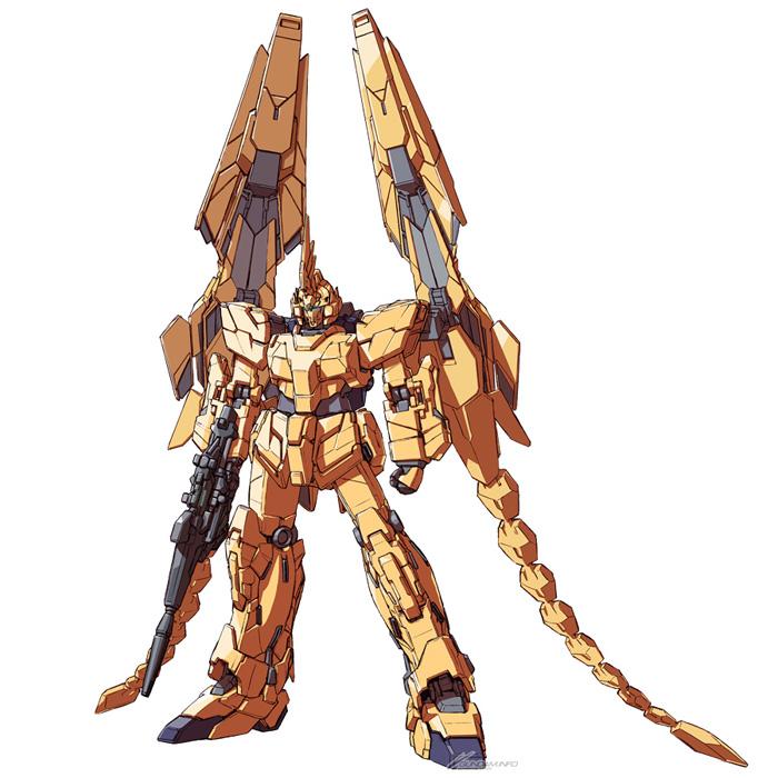 ニュータイプのアムロが乗った最強のガンダムといわれる「RX,93 νガンダム」の試験機ということで、おのずと注目度が高まったようだ。装甲が未装着な部分があり、